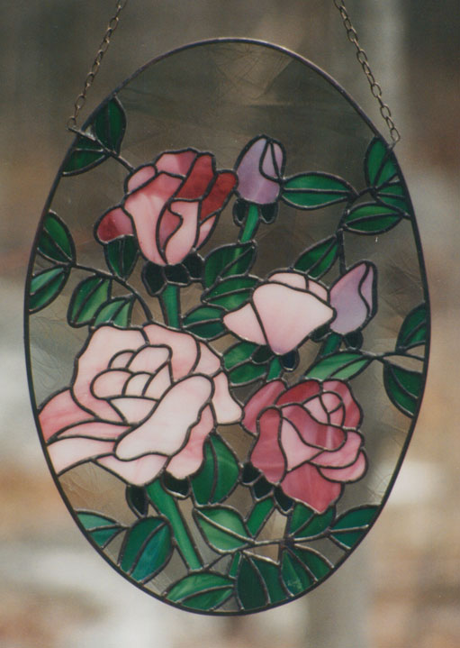 small rose panel